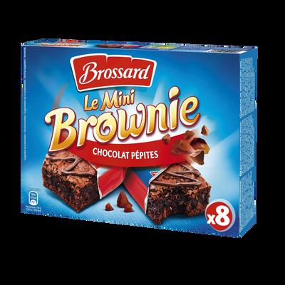 Mini brownies aux pépites de chocolat BROSSARD, 240g