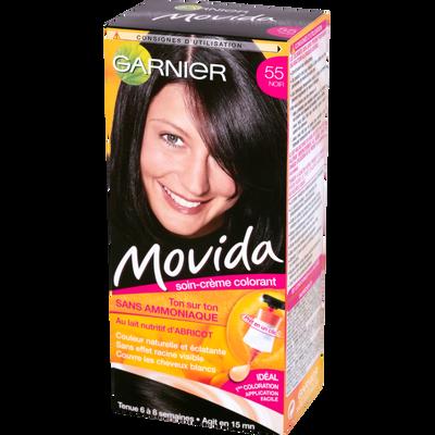 Coloration crème ton sur ton MOVIDA, noir n°55