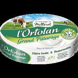 Fromage à pâte molle lait pasteurisé de vacha 31%mg FROM.MILLERET 200g