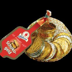 Pièces de monnaie en chocolat PPX carton x30 filet 100g