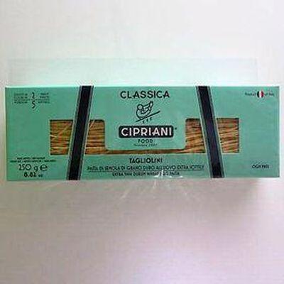 Pâtes aux oeufs Taglioni CIPRIANI,250g