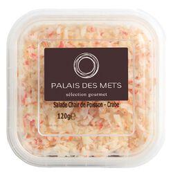 SALADE DE CRABE 120G - PALAIS DES METS
