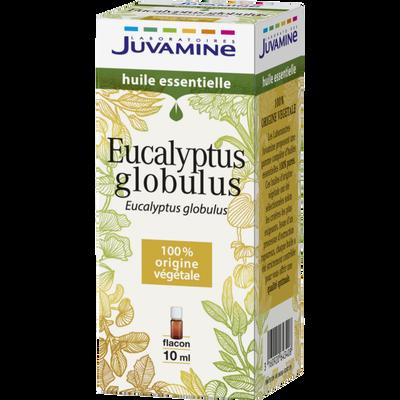 Huile essentielle eucalyptus globulus JUVAMINE, flacon de 10ml
