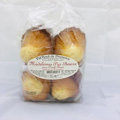 Madeleines pur beurre Pat'boul de Provence