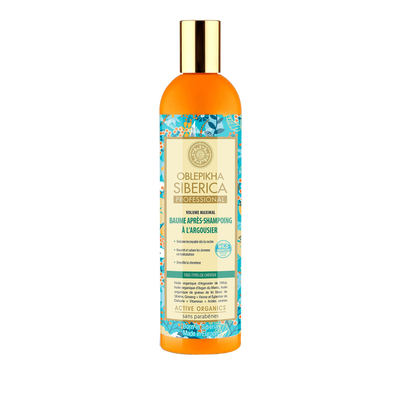 Baume après shampooing à l'argousier NATURA SIBERICA, 400ml