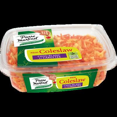 Salade coleslaw PIERRE MARTINET, barquette de 500g