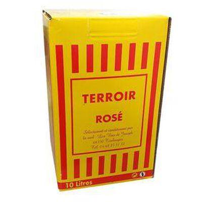 VIN ROSÉ TERROIR CATALAN - IGP Côtes Catalanes - BIB de 10 Litres