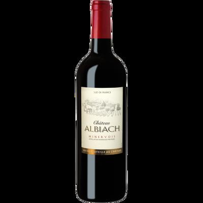 """Vin rouge AOP Minervois """"Château Albiach"""" HVE3, 75cl"""