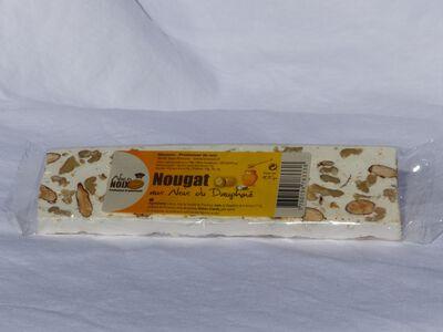 Nougat aux noix du Dauphiné NICONOIX, barre de 100g