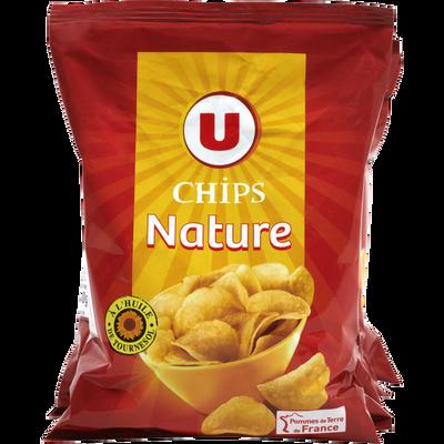 Chips nature multipack U, 6x30g easypack