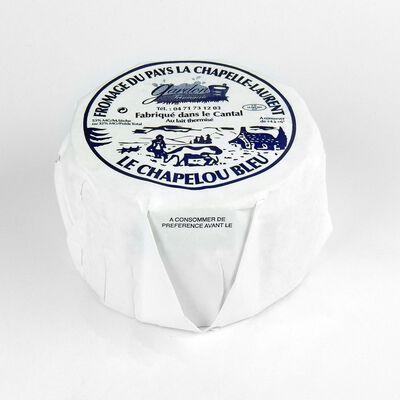 Fromage de pays au lait thermisé  Le Chapelou Bleu , 32%MG Fromagerie Gardon