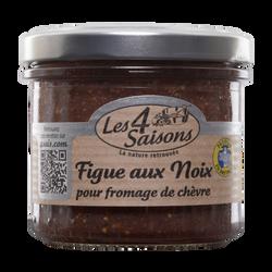 Confiture de figue aux noix 4 SAISONS, 135g