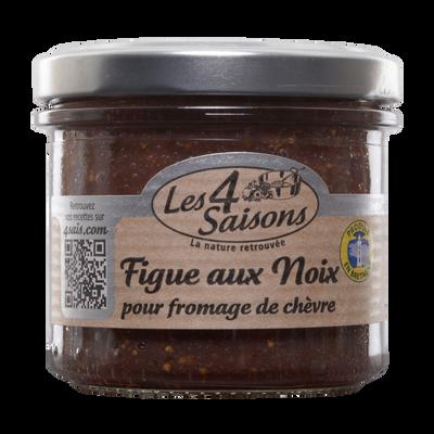 Confiture de figue aux noix 4 SAISONS 135g