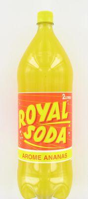 ROYAL SODA ananas, bouteille de 2l