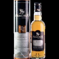 Whisky de Bretagne single malt ARMORIK, 40°, 70cl