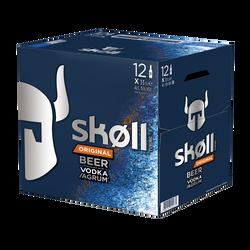 Bière aromatisée vodka TUBORG Skoll, 6°, pack de 12x33cl