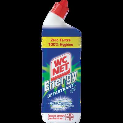 Gel détartrant cuvette Instant Action WC NET Energy, flacon de 750ml