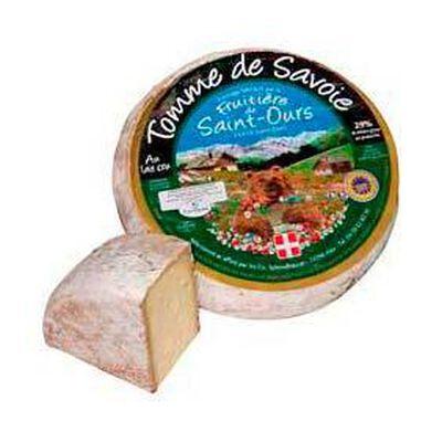 """Tomme de savoie au lait cru """"Saint Ours"""", 29%MG,"""