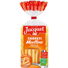 Jacquet Pain De Mie Crousti Moelleux Brioché , Paquet De 600g
