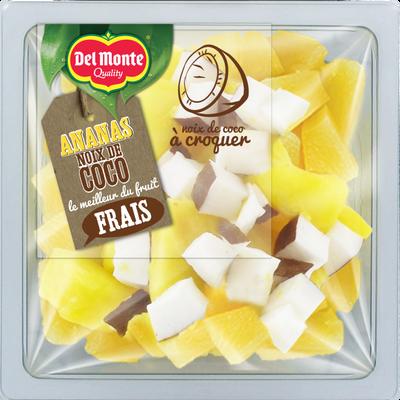 Ananas extra sweet coco, DELMONTE, barquette, 250g