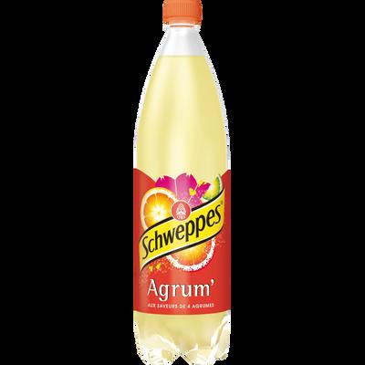 Agrum SCHWEPPES, bouteille en plastique de 1,5 litre