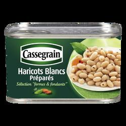 Haricots blancs cuisinés CASSEGRAIN, 400g