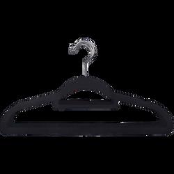 Cintre plastique finition velours x10