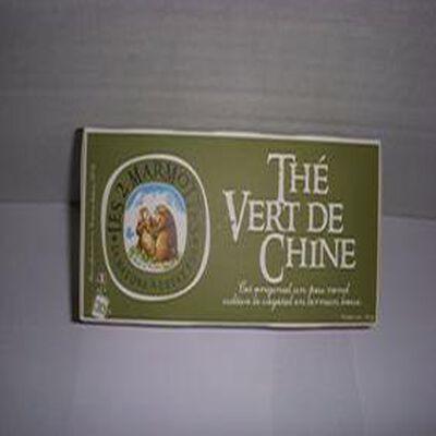 Thé Vert de Chine Les 2 Marmottes 55g