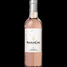 Vin rosé Bordeaux AOP mouton cadet, bouteille de 75cl