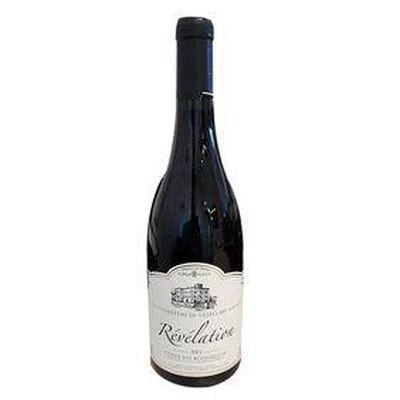 Vin rouge RÉVÉLATION, Côtes du Roussillon CHÂTEAU DE VILLECLARE, bouteille de 75Cl