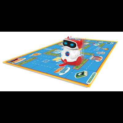 Doc robot parlant programmable CLEMENTONI, enseigne les lettres, lesnombres, les couleurs et le nom des animaux, 3 piles LR6 non incluses