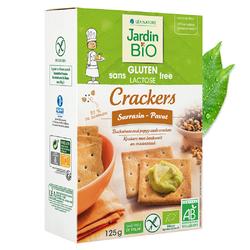 Crackers sarrasin pavot sans gluten JARDIN BIO 125g
