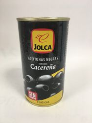 Jolca - Olives Noires Dénoyautées - 350G