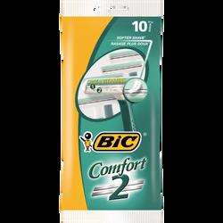 Rasoirs pour homme jetables Comfort 2 BIC, x10