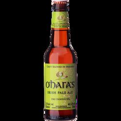 Bière Irish Pale Ale O'HARA'S, 5,2°, bouteille de 33cl