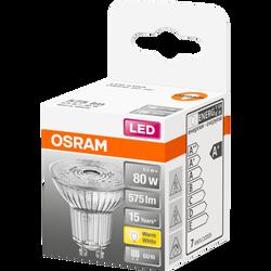 Ampoule led OSRAM spot PAR16 80W culot GU10 blanc chaud