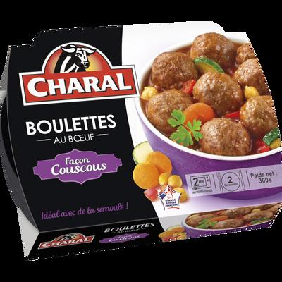 Boulettes façon couscous, CHARAL, France, 300g