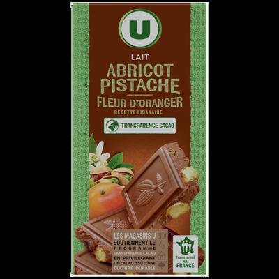 Bloc libanaise pistache abricot U 180g