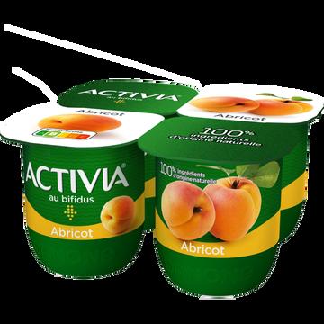 Danone Yaourt Aux Fruits Bifidus Abricot Activia, 4x125g