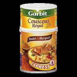 Couscous Royal au poulet et merguez GARBIT, 980g