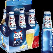 Kronenbourg Bière Blanche Sans Alcool 1664 6x25cl