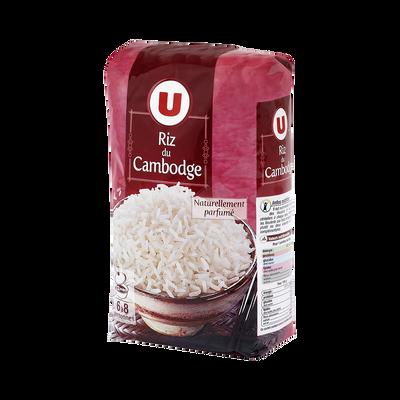 Riz du Cambodge U, sachet en alu de 500g