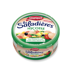 Saladière snacking Niçoise SAUPIQUET, boîte de 220g