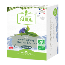 Thé morning tea earl grey bio TISANE DU GUIDE, x20 soit 38g