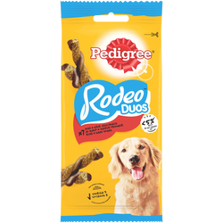 Rodéo duos récompenses b uf&fromage pour chien PEDIGREE, x7, 123g