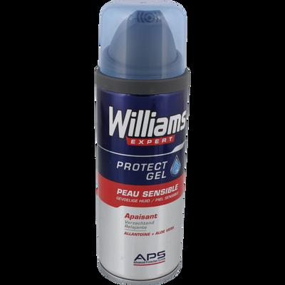 Gel à raser peaux sensibles WILLIAMS, atomiseur de 200ml