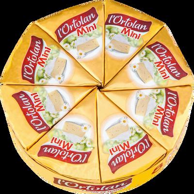 L'Ortolan au lait pasteurisé FROMAGERIE MILLERET, 28% de MG, 8 portions soit 240g