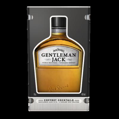 Whiskey Tennessee Gentleman Jack JACK DANIEL'S, 40°,  70cl +c offret fin d'année