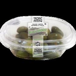 Olives vertes d'Italie Bella Cerignola, 220g
