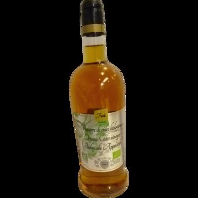 Vinaigre de cidre 5° biologique, FUCHS, bouteille de 75cl
